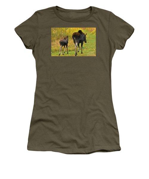 Movin On Down The Road Women's T-Shirt (Junior Cut) by Sam Rosen