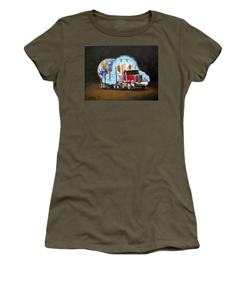 Moving Heaven And Earth  Women's T-Shirt (Athletic Fit)