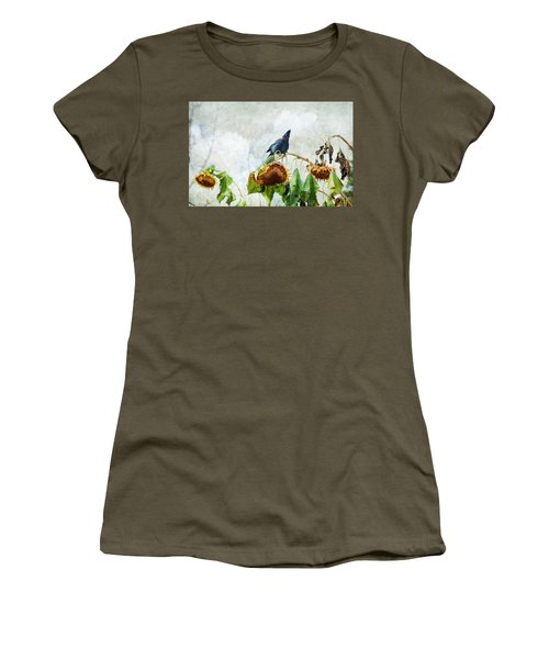 Mr Jay And The Sunflowers Women's T-Shirt