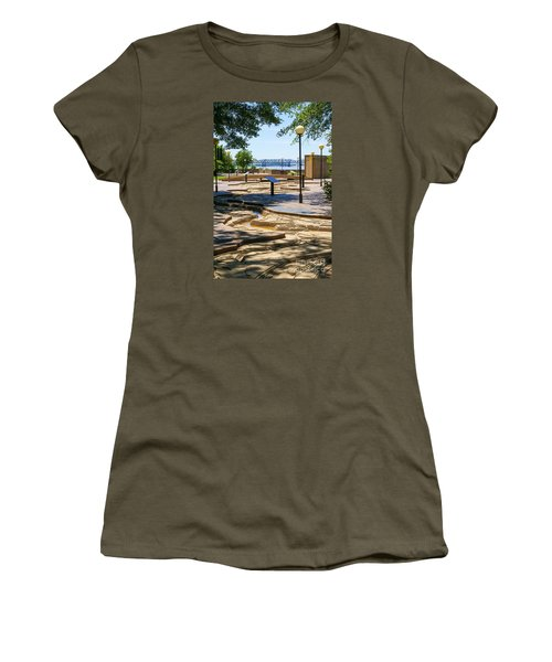 Mud Island Park Women's T-Shirt (Athletic Fit)