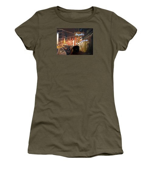 Mulberry St. Nyc Women's T-Shirt (Athletic Fit)