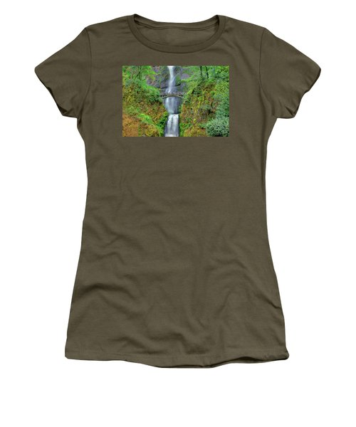 Multnomah Falls 2  Women's T-Shirt