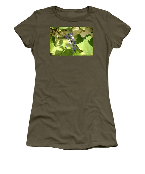 Muscadine Grapes Women's T-Shirt (Athletic Fit)