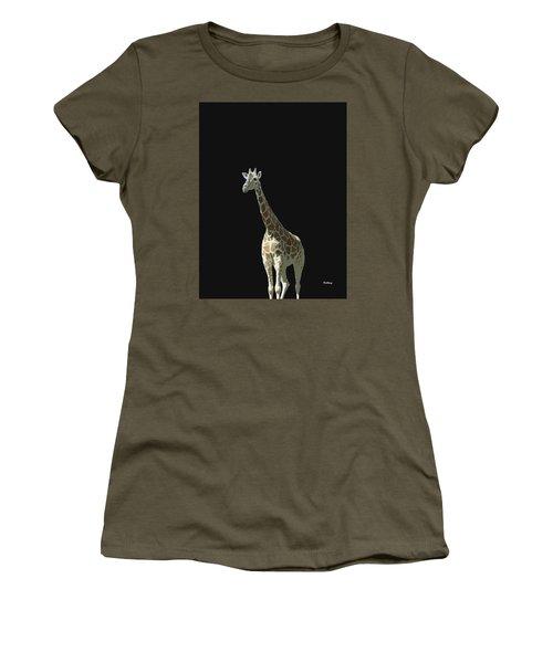 Women's T-Shirt (Junior Cut) featuring the digital art Music Notes 32 by David Bridburg