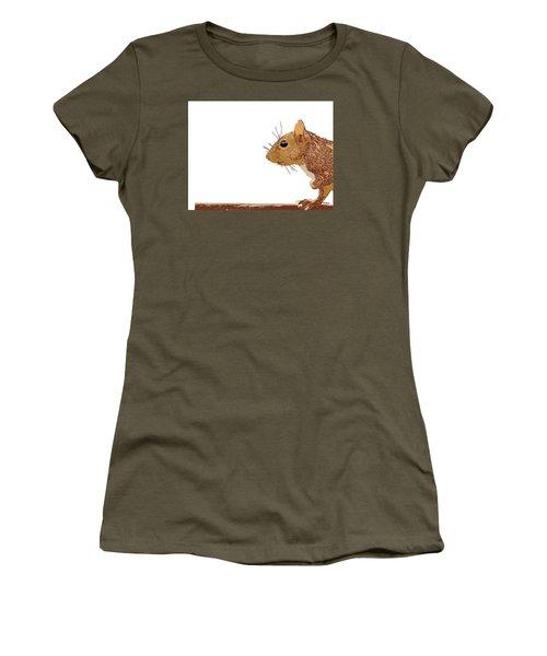 Women's T-Shirt (Junior Cut) featuring the digital art Music Notes 7 by David Bridburg
