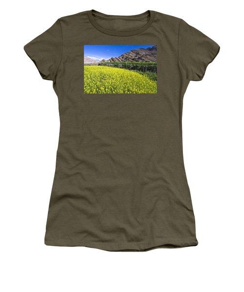 Mustard Field, Hemis, 2007 Women's T-Shirt