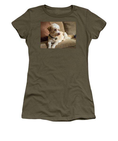 My Best Friend Women's T-Shirt (Athletic Fit)