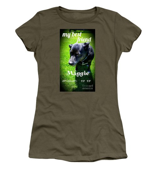 My Best Friend  Women's T-Shirt (Athletic Fit)