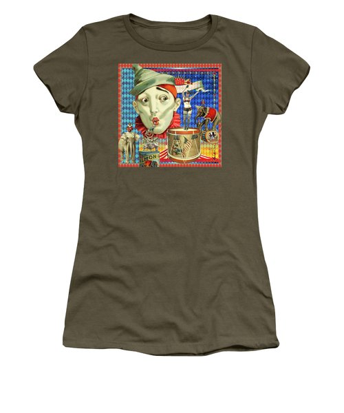 Women's T-Shirt (Junior Cut) featuring the photograph My Circus by Jeff Burgess