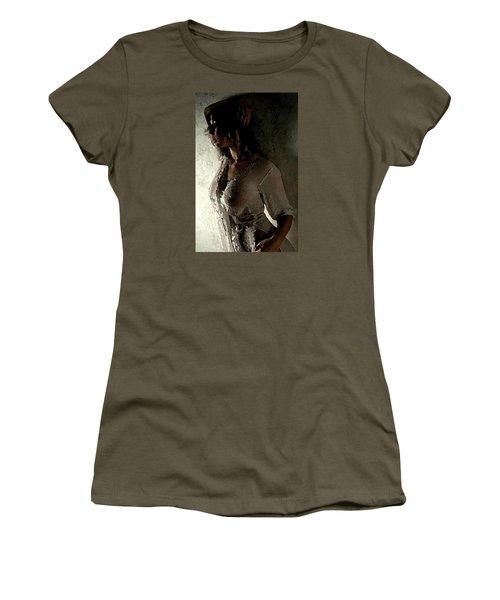 My Desire. Women's T-Shirt (Junior Cut) by Shlomo Zangilevitch