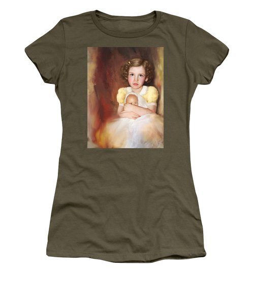 Women's T-Shirt (Junior Cut) featuring the photograph My Dolly by Bonnie Willis