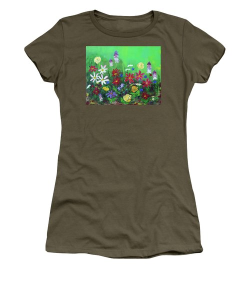 My Happy Garden 2 Women's T-Shirt (Athletic Fit)