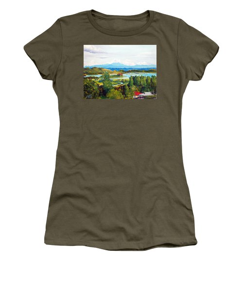 My Homeland Women's T-Shirt (Athletic Fit)