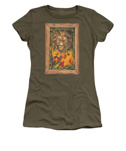 My Leo  Women's T-Shirt