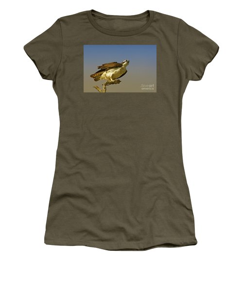 Women's T-Shirt (Junior Cut) featuring the photograph My Pose For You by Deborah Benoit