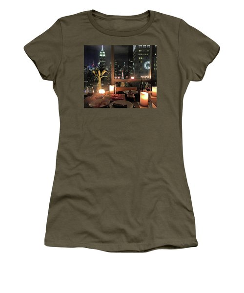 My View Women's T-Shirt (Athletic Fit)