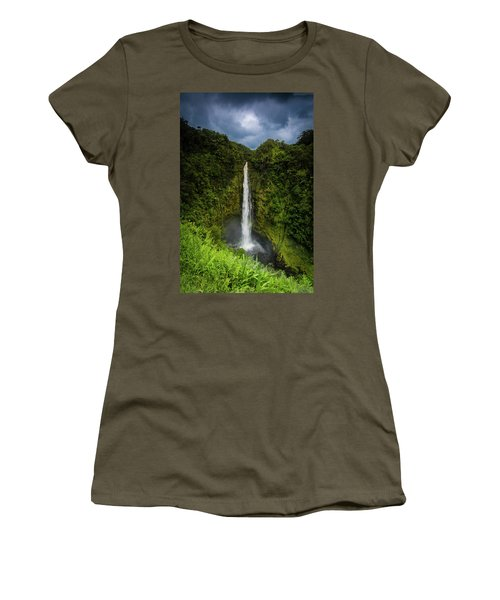 Mystic Waterfall Women's T-Shirt