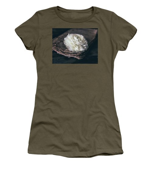 Women's T-Shirt (Athletic Fit) featuring the photograph Mystique by Kim Hojnacki