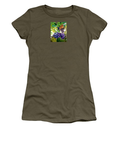 Napa Harvest Women's T-Shirt (Athletic Fit)