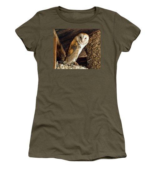 Napster Women's T-Shirt (Junior Cut) by Scott Warner