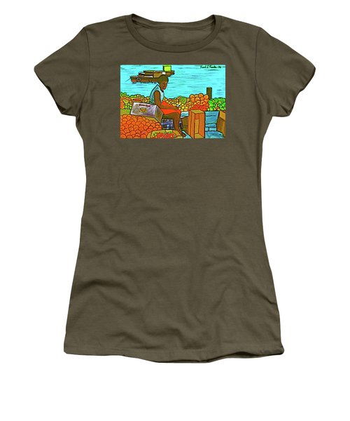 Nassau Fruit Seller At Waterside Women's T-Shirt