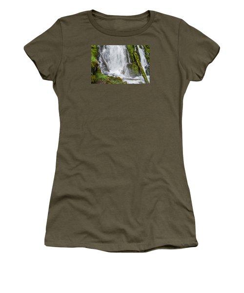 National Falls 2 Women's T-Shirt (Junior Cut) by Greg Nyquist