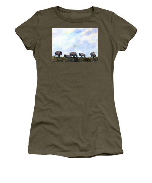 National Treasure - Bison Women's T-Shirt