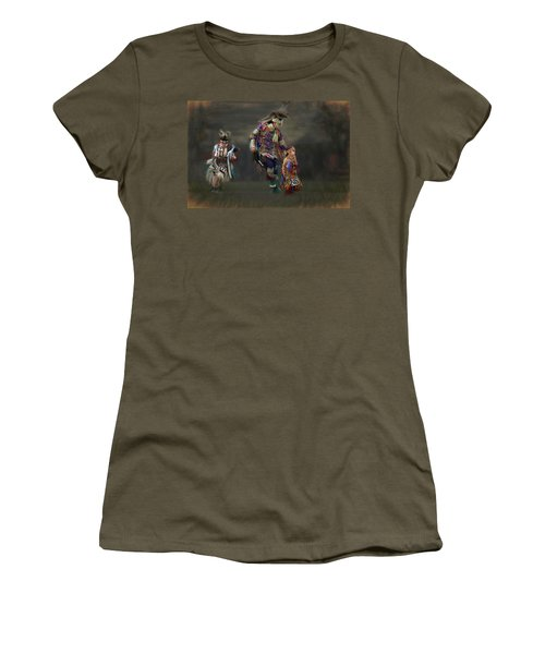 Native American Dancers Women's T-Shirt (Athletic Fit)