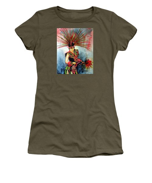 Native Dancer Women's T-Shirt (Athletic Fit)