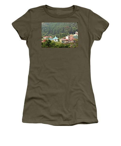 Women's T-Shirt (Junior Cut) featuring the photograph Native Village In Taiwan by Yali Shi