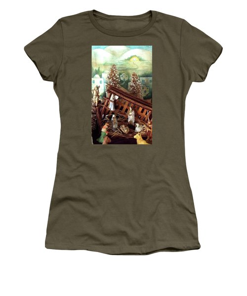 Nativity Of Our Lord Women's T-Shirt (Athletic Fit)