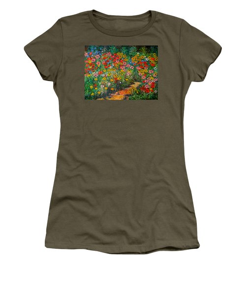 Natural Rhythm Women's T-Shirt (Junior Cut) by Kendall Kessler