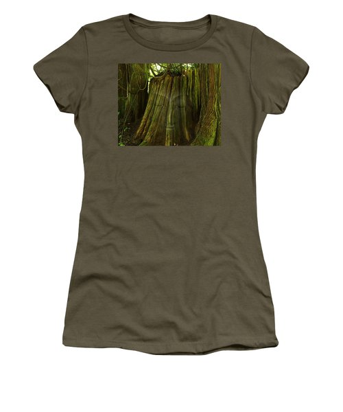 Nature Buddha Women's T-Shirt (Athletic Fit)