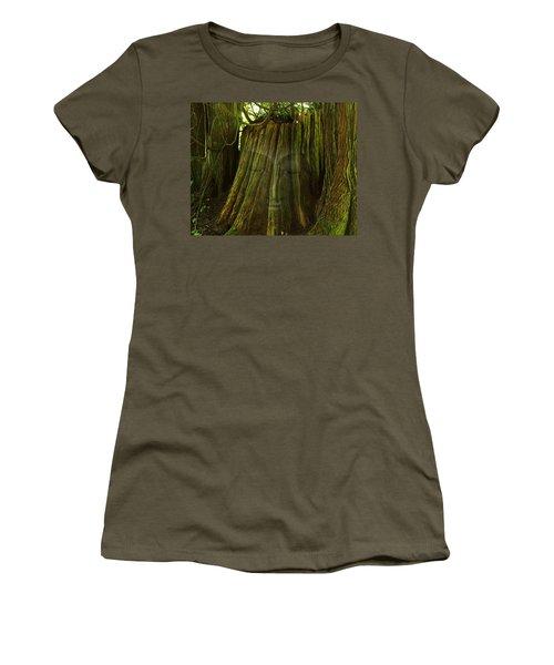 Nature Buddha Women's T-Shirt (Athletic Fit)