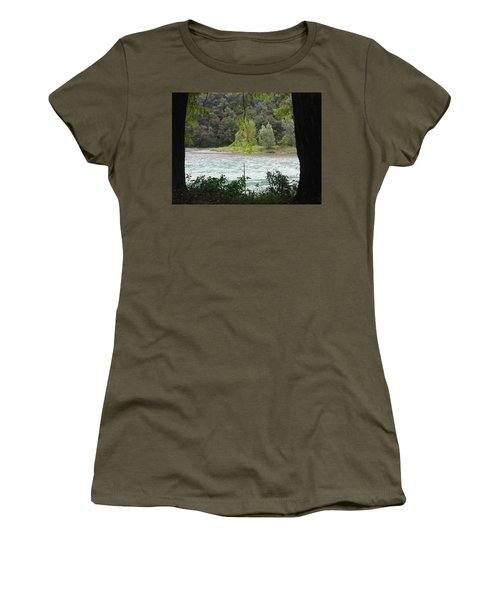 Nature On Stage Women's T-Shirt (Athletic Fit)