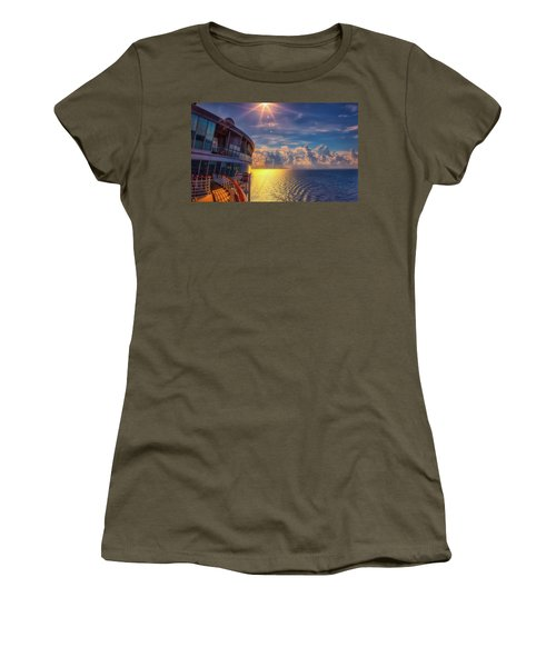 Natures Beauty At Sea Women's T-Shirt