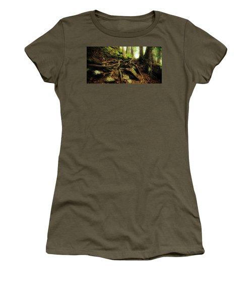 Nature's Cauldron Women's T-Shirt (Athletic Fit)