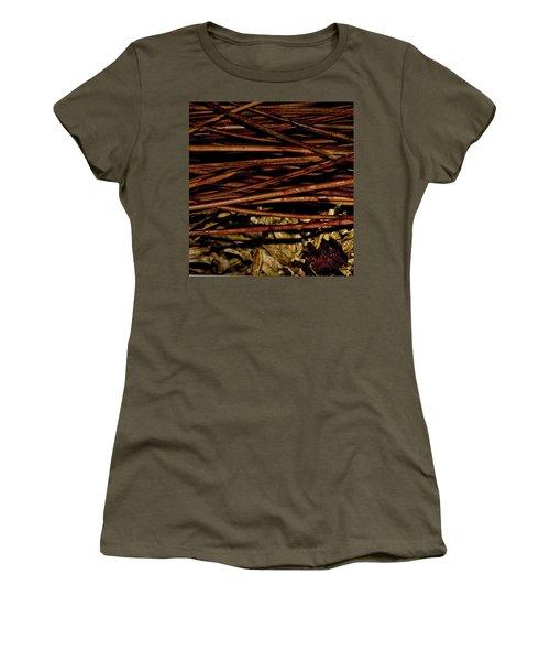 Nature's Lattice Women's T-Shirt (Junior Cut) by Gina O'Brien