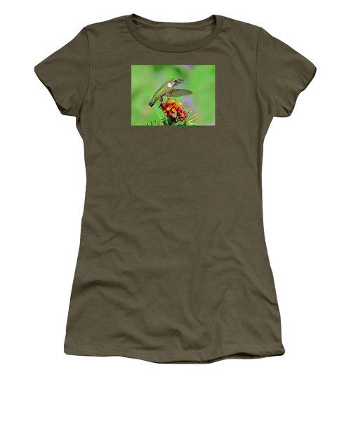 Women's T-Shirt (Athletic Fit) featuring the photograph Nature's Majesty by Rodney Campbell
