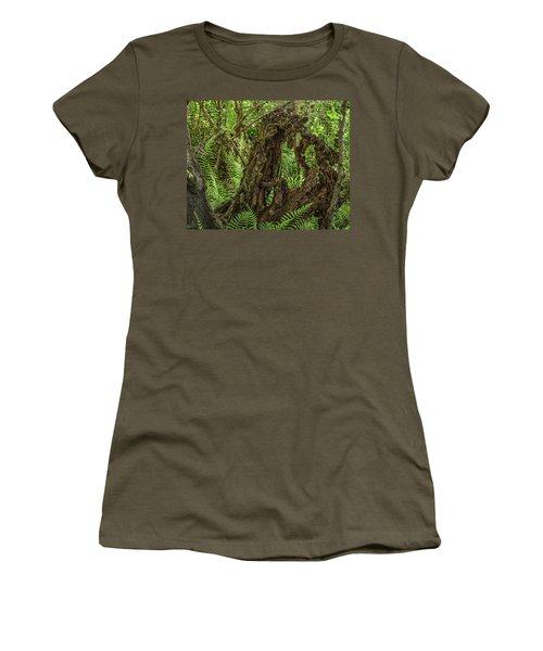 Nature's Sculpture Women's T-Shirt (Athletic Fit)