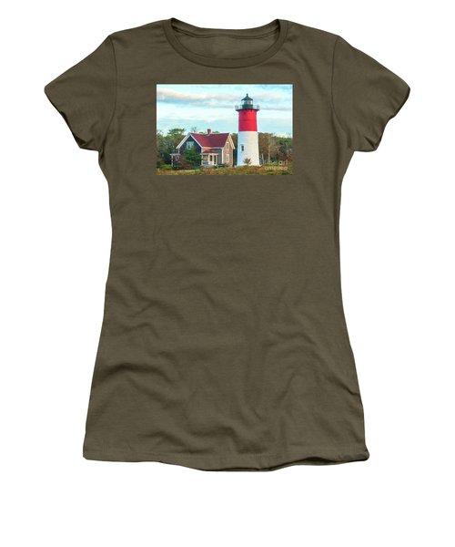 Nauset Light Women's T-Shirt (Athletic Fit)