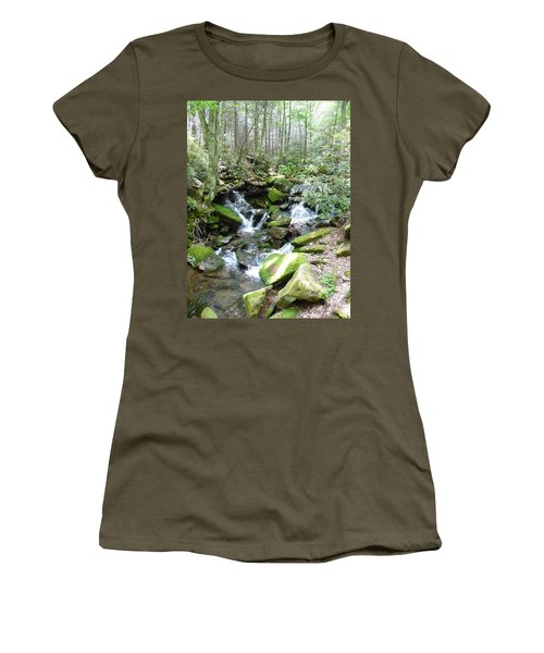 Near The Grotto Women's T-Shirt (Athletic Fit)