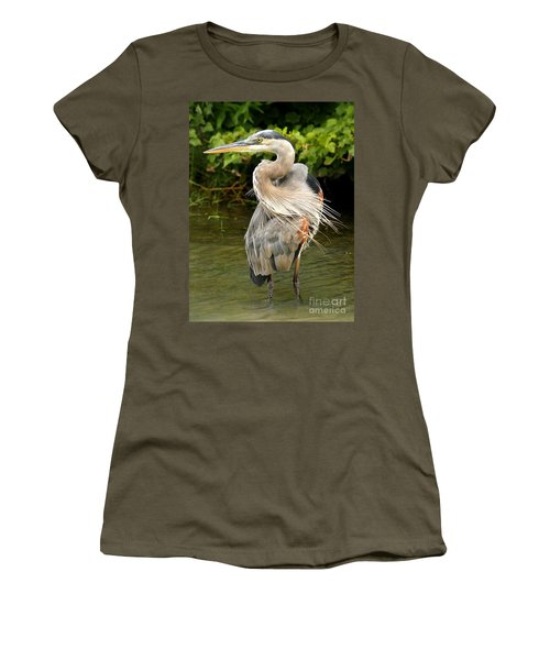 Women's T-Shirt (Junior Cut) featuring the photograph Thought You Had My Back by Heather King
