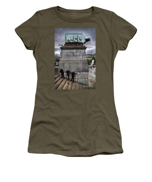 Nelson's Ship In A Bottle Women's T-Shirt