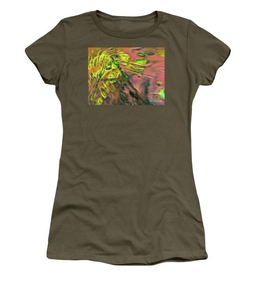 Neon Synapses Women's T-Shirt (Junior Cut) by Todd Breitling