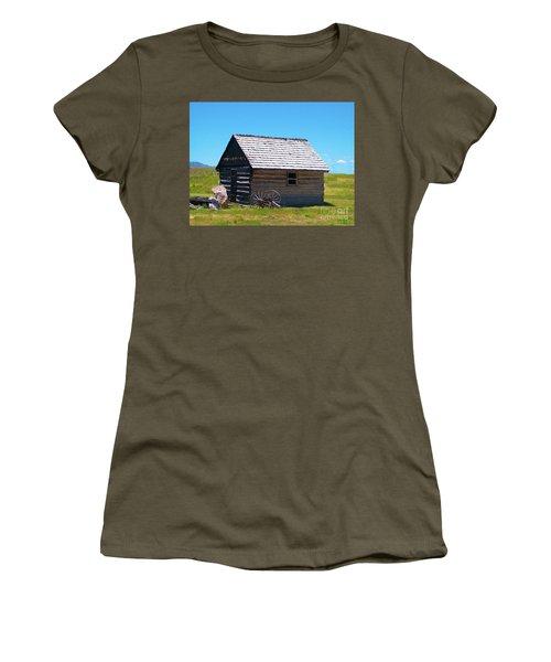 Nevada Log Cabin Women's T-Shirt