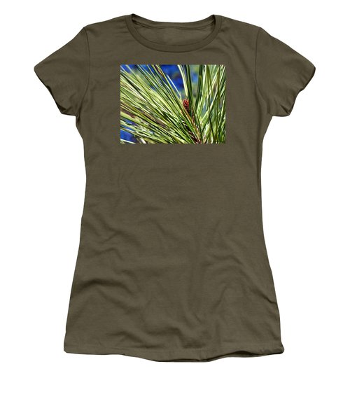 Women's T-Shirt (Junior Cut) featuring the photograph New Life by Betty Northcutt