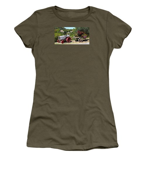 Women's T-Shirt (Junior Cut) featuring the photograph New Pastures by Richard Patmore
