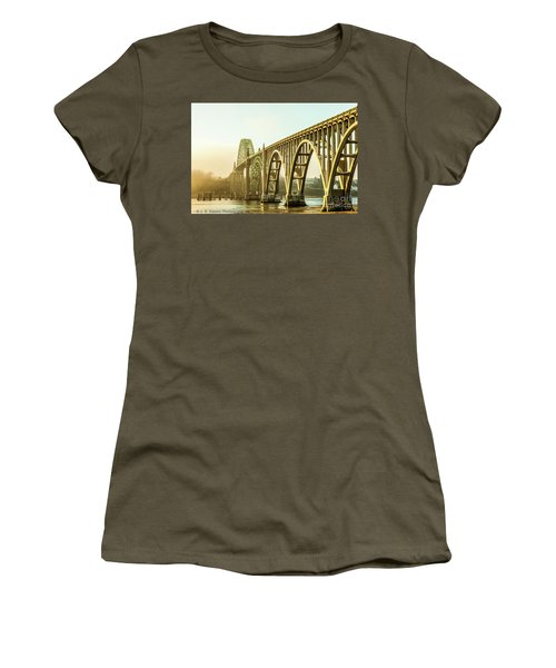 Newport Bridge Women's T-Shirt (Athletic Fit)
