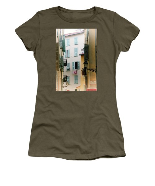 Women's T-Shirt (Athletic Fit) featuring the photograph Nice Pastel by Rasma Bertz